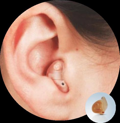 Ενδωτιαίο ακουστικό βαρηκοΐας από την Cosmoear